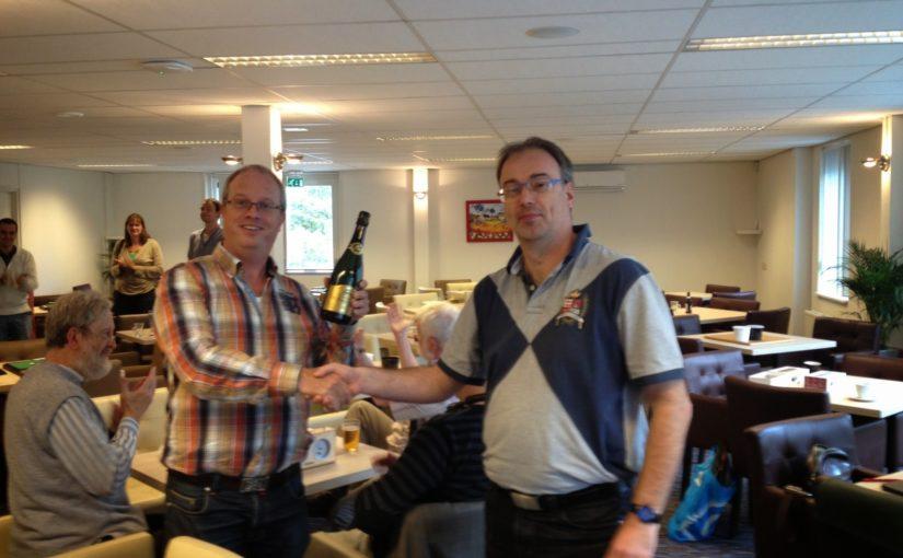 Bert Vonk wint GoGo Toernooi 2014