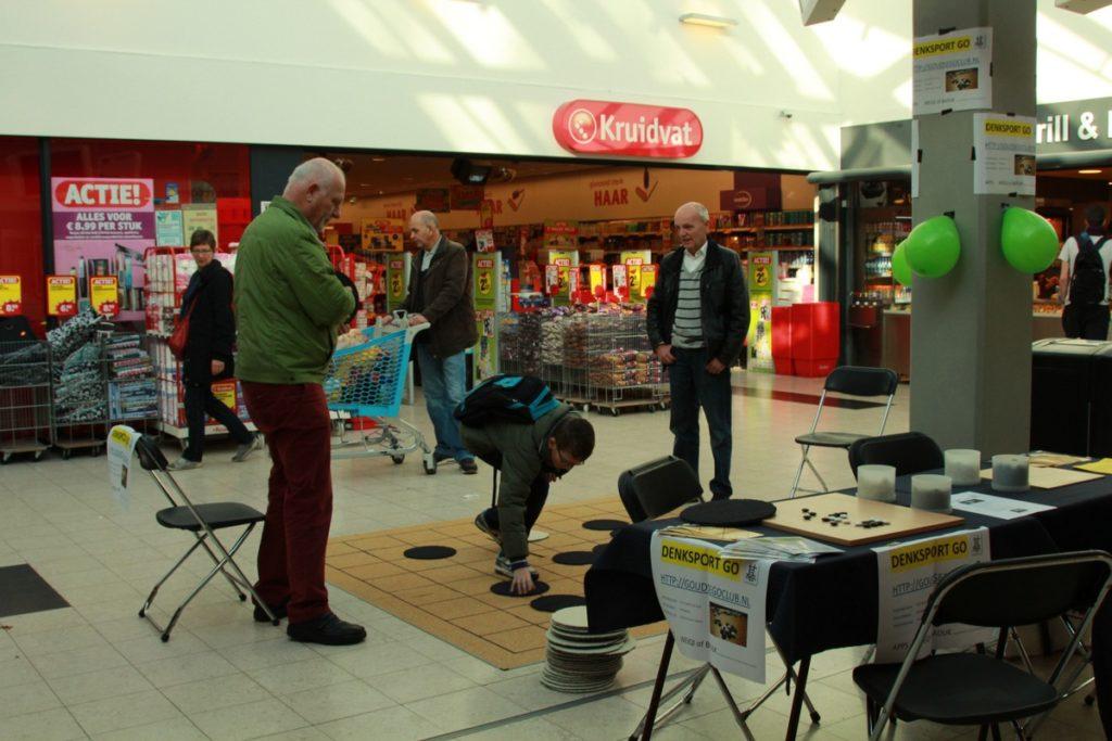 Promotie in Winkelcentrum Bloemendaal